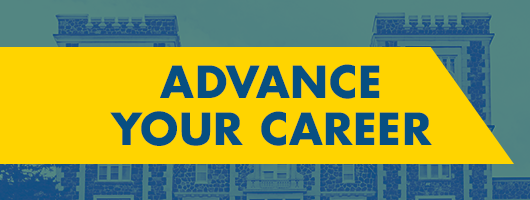 Advance Your Career Banner Message