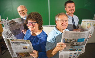 George Killough, Patricia Hagen, Tom Zelman and Ryan Vine are all book reviewers for the Upper Midwest's leading newspaper.