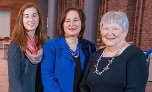 Hannah Cornwell, Jill Eichenwald Cornwell and Shirley Eichenwald-Maki