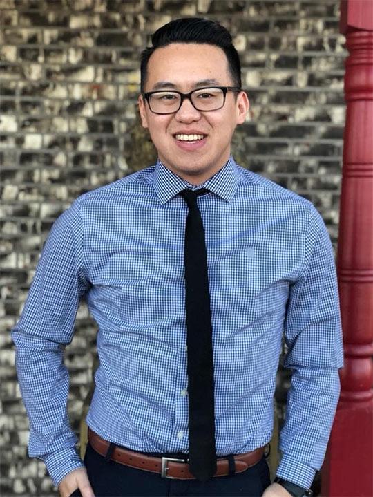 Portrait of Long Vang, St. Scholastica student