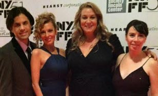 Debbie DeLisi at the New York Film Festival