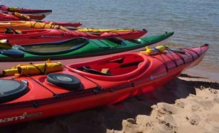 Kayaking is one of the amazing adventures students may take part in through Outdoor Pursuit.