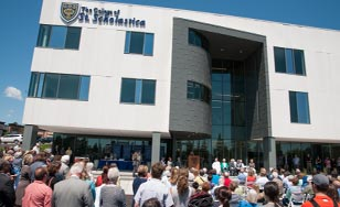Health Science Center ribbon cutting ceremony.
