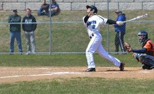 Jesse Heaton swinging for the fences