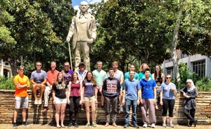 REU Group Photo in Texas