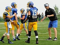 CSS football practice