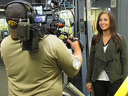 Fox Sports North begins filming on CSS campus