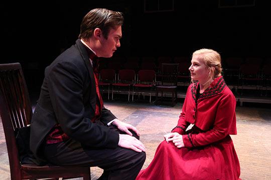 Nick Aspin performing in Sense and Sensibility
