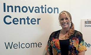 Joy Selleck at the HiMSS Innovation Center