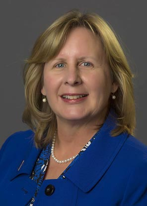 President-elect Barbara McDonald