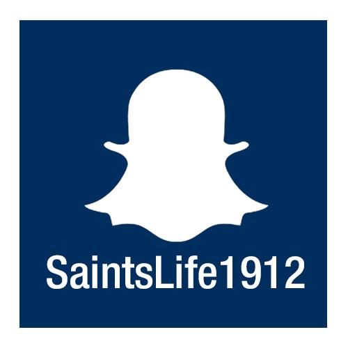 SaintsLife1912 Snapchat Logo
