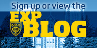 Sign up or view the EXP blog