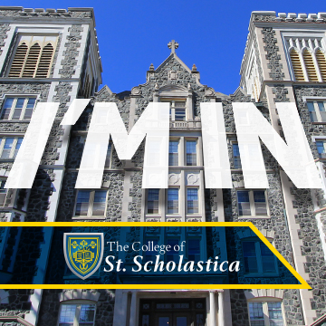 Facebook Profile Picture #futuresaint with picture of Tower Hall