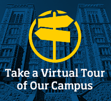Click this graphic to take a virtual tour of our Duluth Campus.