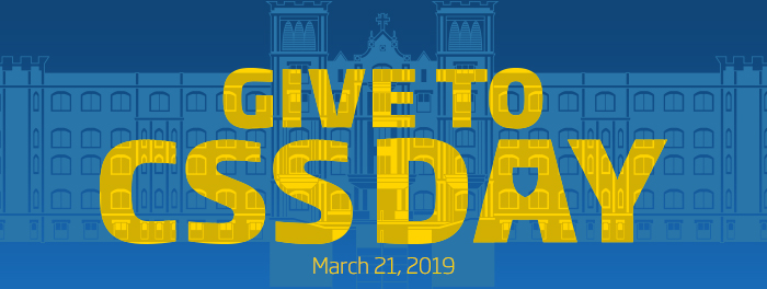 Click here to give to CSS | March 23, 2018