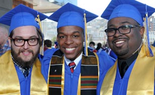 Three St. Scholastica Graduates at Commencement