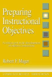 Book Cover of Preparing Instructional Objectives
