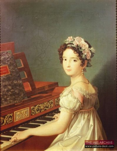 Artist's Daughter at the Harpsichord