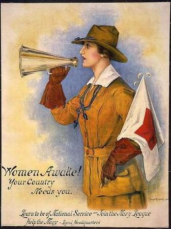 Naval reqruitment poster