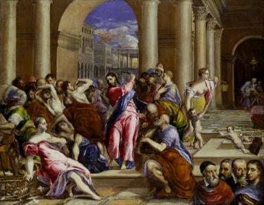 Driving the Moneychangers from the Temple