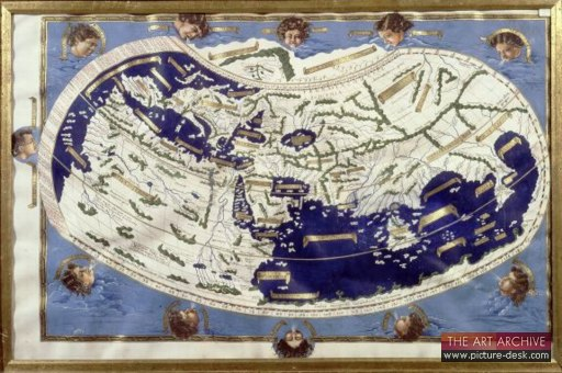 World accordng to Ptolemy