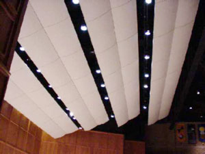Mitchell Auditorium lighting