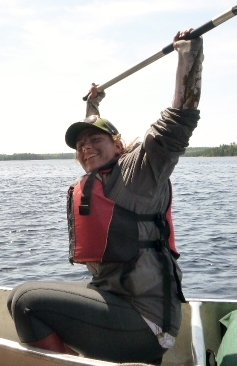 Cat Canoeing
