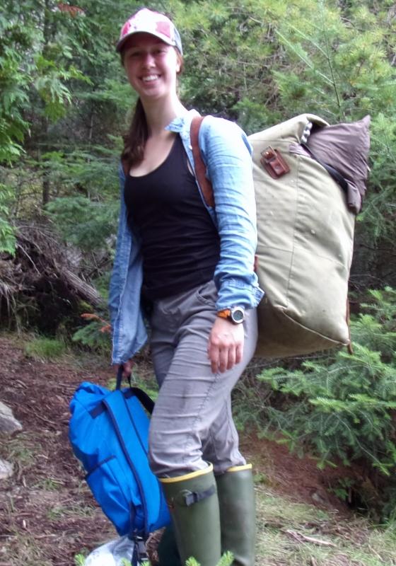 Jess on Portage Trail