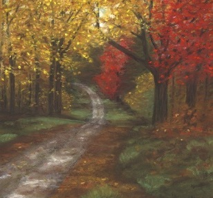 © 2016 Sheila Meixner, Fall Path