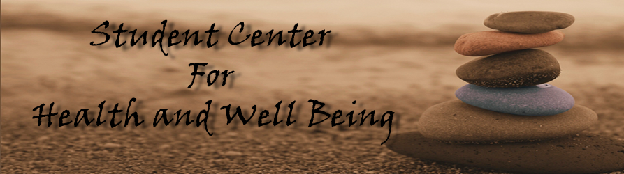 Student Center For Health and Well Being Banner