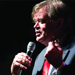 Garrison Keillor performing