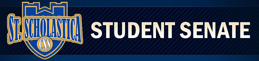 banner with Student Senate and CSS Shield
