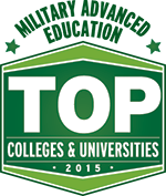 Military Advanced Education Badge | Top Colleges & Universities 2015
