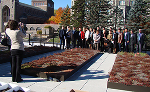 Eurasian healthcare leaders visited the Duluth campus on Oct. 14
