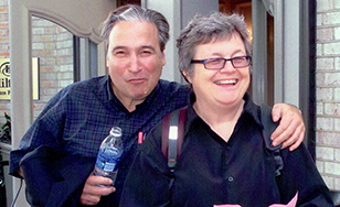 Michael Paymar and Ellen Pence
