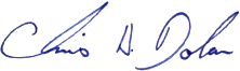 Board of Trustees Chair's signature