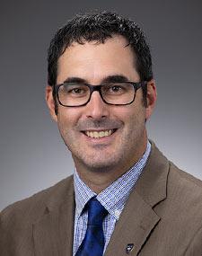 Vice President for Academic Affairs, Ryan Sanderer